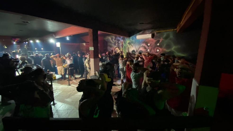 Festa clandestina tinha 77 pessoas na Zona Leste de SP — Foto: Divulgação