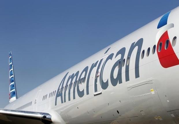 Avião da companhia aérea American Airlines (Foto: Mike Stone/Reuters)