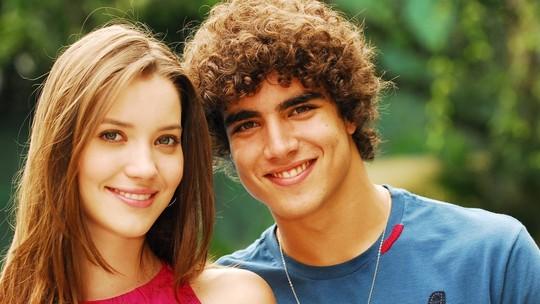 Caio Castro e Nathalia Dill relembram parceria em 'Malhação' há 12 anos