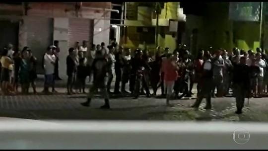 Madrugada violenta assusta moradores de Santa Cruz do Capibaribe, em Pernambuco