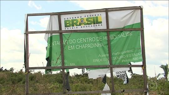 Obras de centros de hemodiálise do Maranhão estão atrasadas