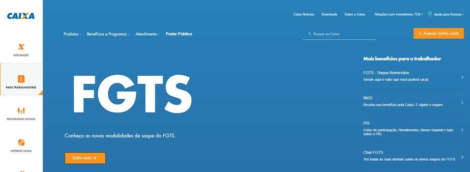 Saque do FGTS 2020: Caixa libera consulta a valor e data do depósito em app e conta