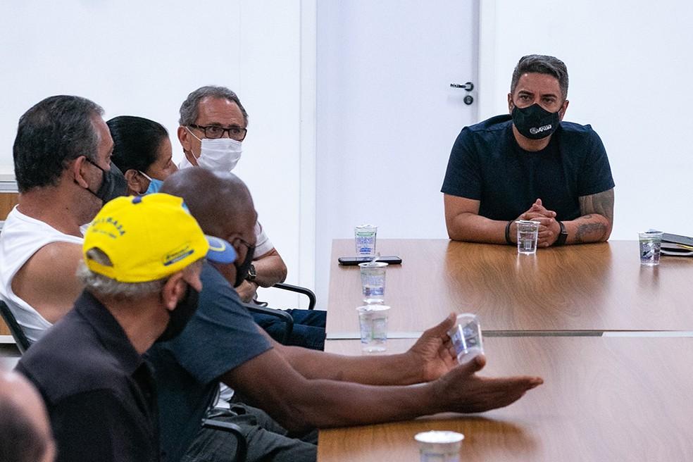 Prefeitura de Araxá anuncia regularização de moradias do Bairro Santa Maria— Foto: Prefeitura de Araxá/Divulgação