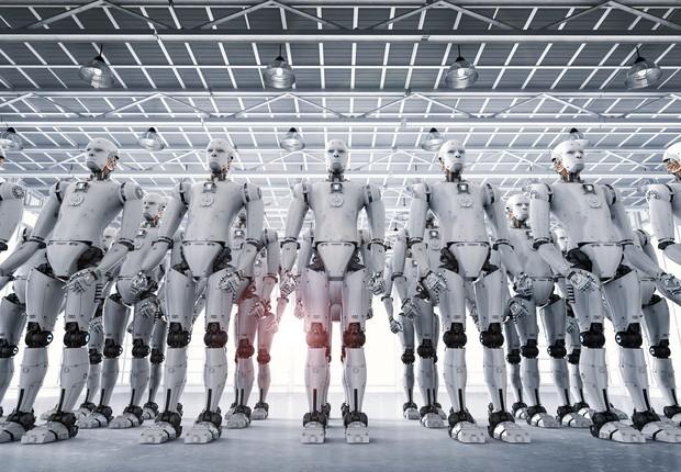 tecnologia, robôs, automação, futuro do trabalho, inteligência artificial (Foto: Thinkstock)