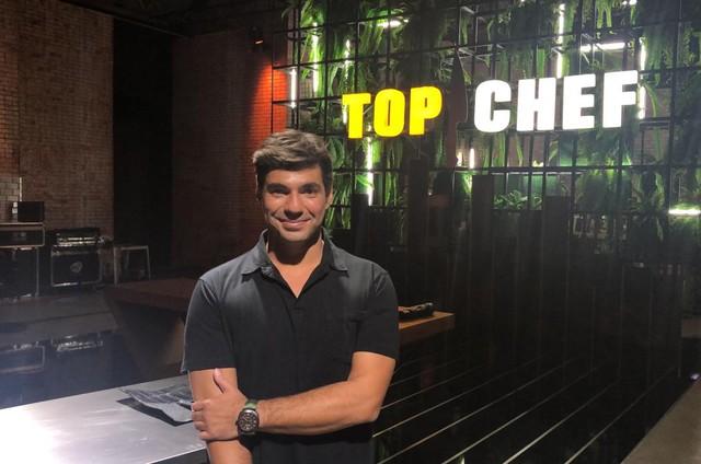 Felipe Bronze no 'Top chef' (Foto: Divulgação)