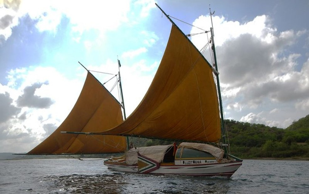 Canoa Luzitânia — Foto: Canoa de Tolda/Divulgação