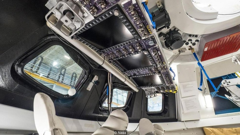 A nave espacial vai transportar quatro astronautas em missões previstas para durar semanas  (Foto: Nasa)