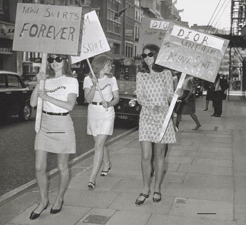 Minissaia na década de 1960 (Foto: Reprodução)