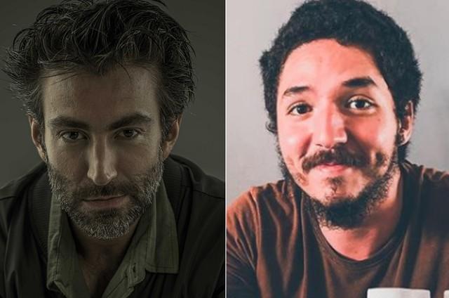 Rodrigo Pandolfo e João Vitor Silva (Foto: Vinícius Mochizuki e reprodução)