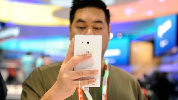 Celular da Huawei  (Foto:  David Becker/Getty Images)