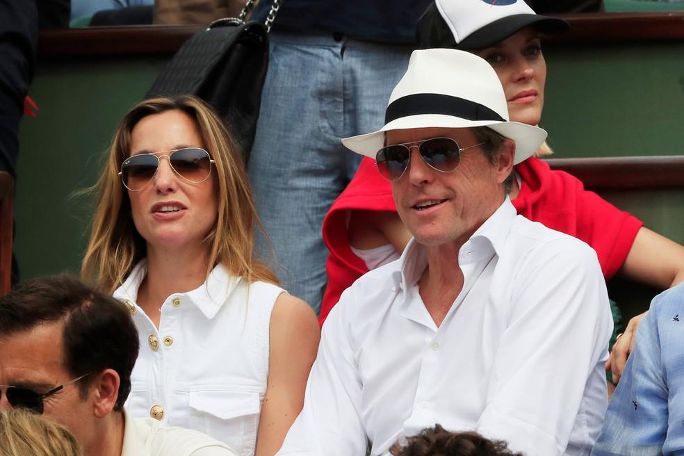 Hugh Grant Roland Garros (Foto: REUTERS/Gonzalo Fuentes)