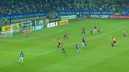 Cruzeiro respira com vitória contra o Z-4 em vitória sobre o São Paulo