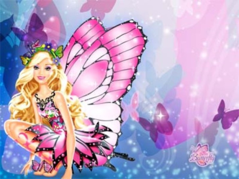 papel de parede  barbie