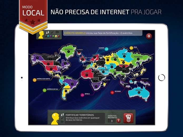 War Popular Jogo De Tabuleiro Ganha Versao Para Android Ios E Pc Noticias Techtudo