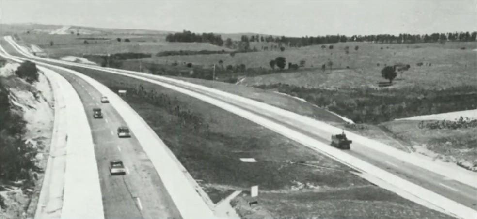 Castello Branco foi inaugurada há 50 anos — Foto: Reprodução/TV TEM
