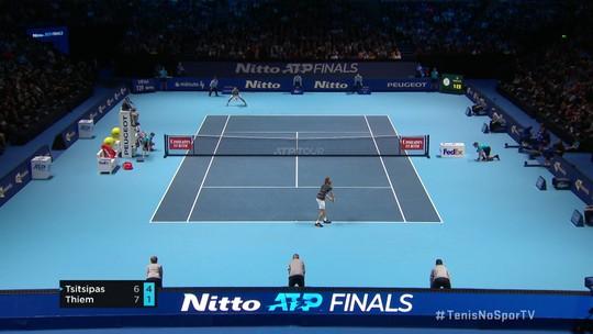 """""""Gol do Gabigol"""": torcedor quebra silêncio na plateia durante o ATP Finals em Londres"""