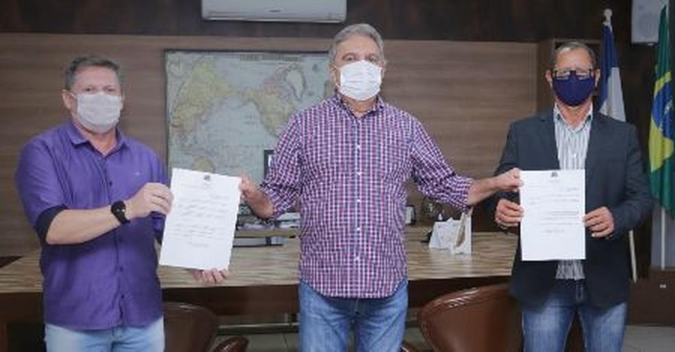 Gurupi tem novo secretário de saúde — Foto: Marcos Veloso/Secom Gurupi