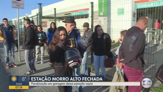 Após manifestação de motoristas, ônibus voltam a circular em Vespasiano, na Grande BH