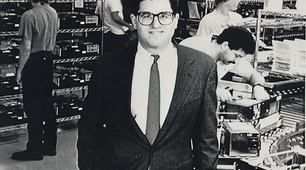 Michael Dell, durante a primeira fase da empresa: computadores personalizados ao gosto dos clientes (Foto: AP Photo/Rebecca McEntee)