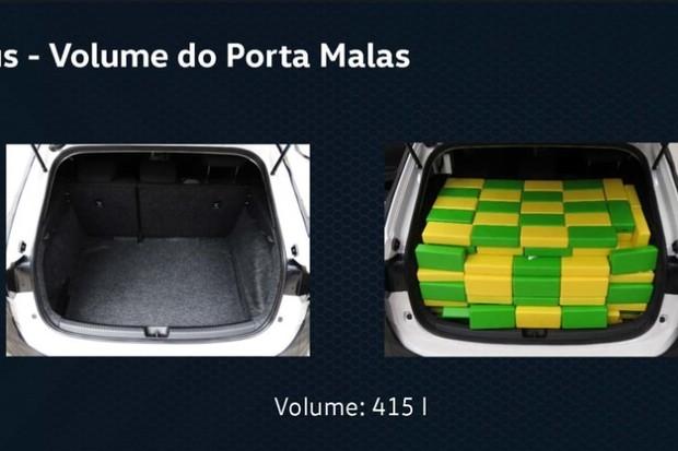 Volkswagen Nivus Porta-Malas (Foto: Divulgação)