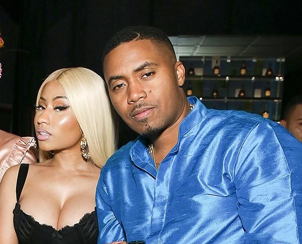 Nicki Minaj e Nas (Foto: Getty Images)