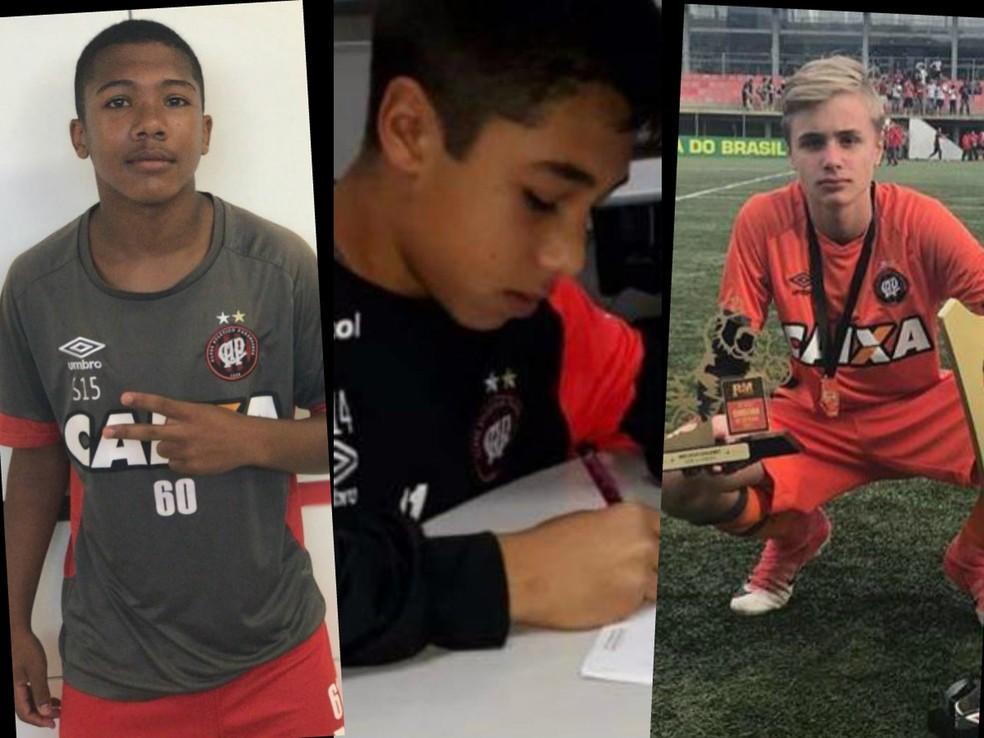 Três vítimas fatais da tragédia no Flamengo passaram pelas categorias de base do Athletico — Foto: Reprodução/Facebook