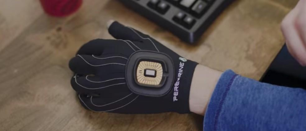 Peregrine Gaming Glove é uma luva que promete substituir o mouse — Foto: Reprodução/Peregrine Gaming Glove