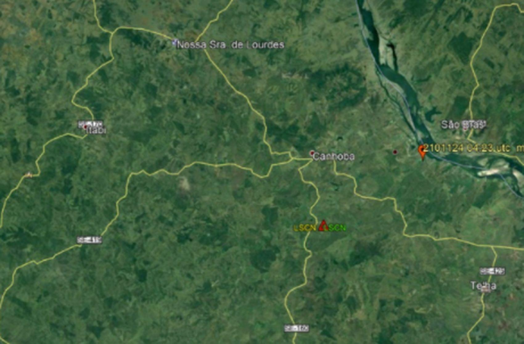 Tremor de terra é registrado no município de Canhoba em Sergipe