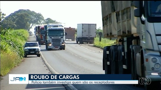 Homem é preso suspeito de roubar carga de cerveja avaliada em mais de R$ 150 mil, em Goiás