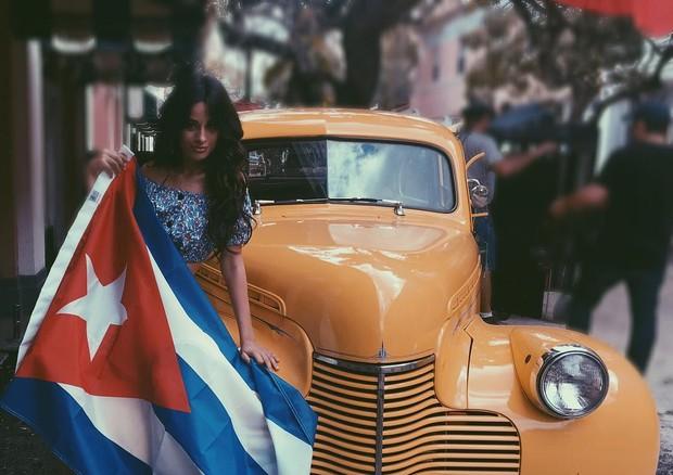 Camila em Cuba (Foto: Reprodução/Instagram)