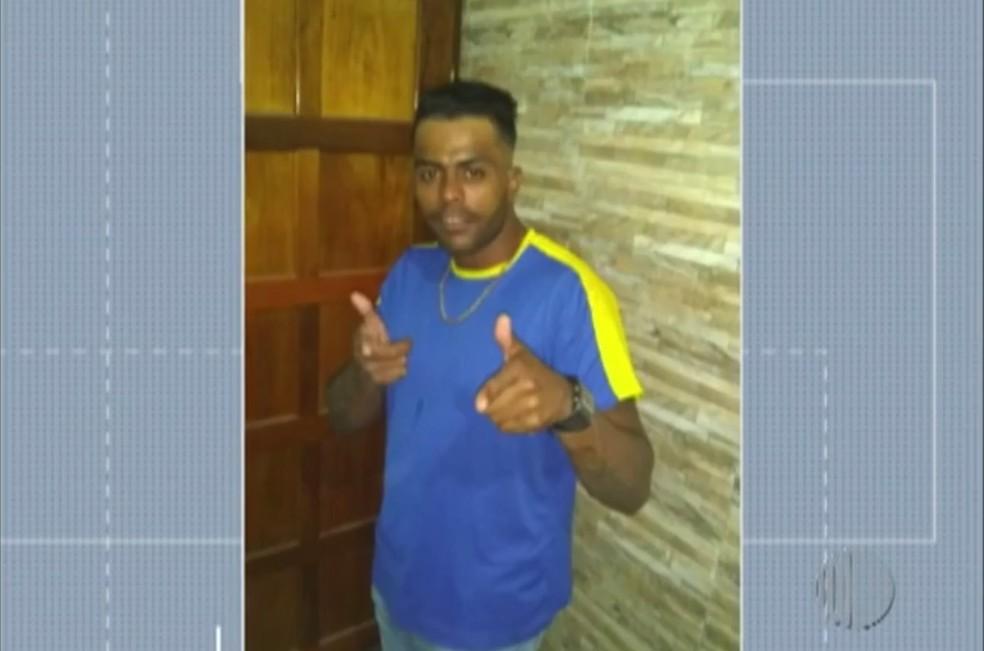 Edilson Marques morreu após ser esfaqueado pelo irmão, em Suzano.— Foto: Reprodução/Diário TV