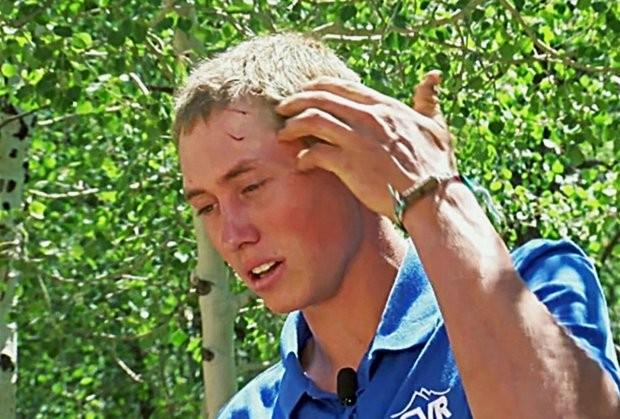 Dylan foi ataca por urso no parque Glacier View Ranch