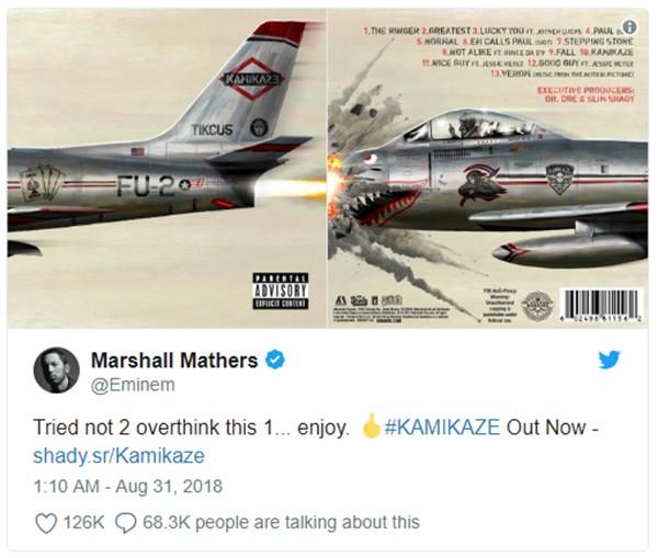 Eminem  (Foto: Twitter)