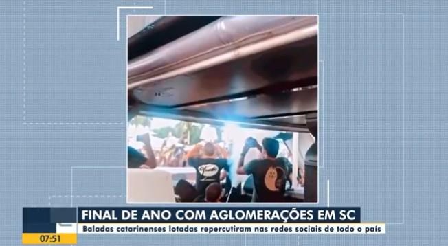 MP investiga 15 casas noturnas e bares suspeitos de descumprirem regras contra a Covid-19 em festas de fim de ano em Florianópolis
