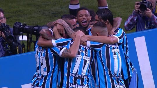 Assista aos gols da vitória do Grêmio sobre o Atlético-MG
