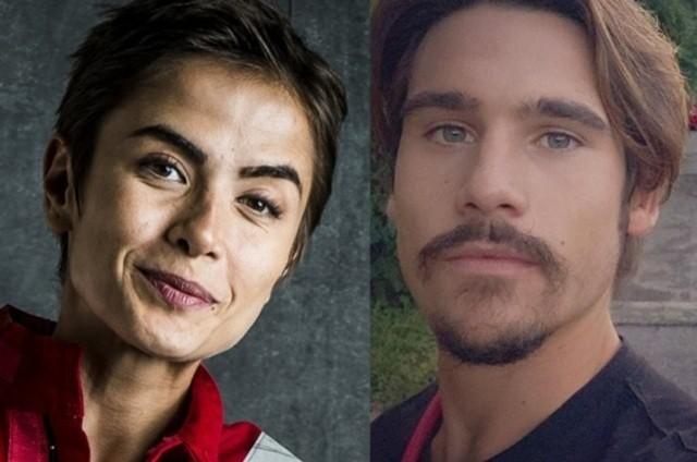 Maria Casadevall e Nicolas Prattes (Foto: Globo e reprodução)