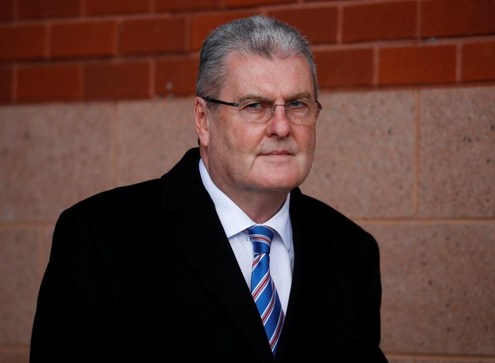 Graham Mackrell é o único considerado culpado até hoje - e ficará no máximo dois anos na prisão — Foto: Reuters