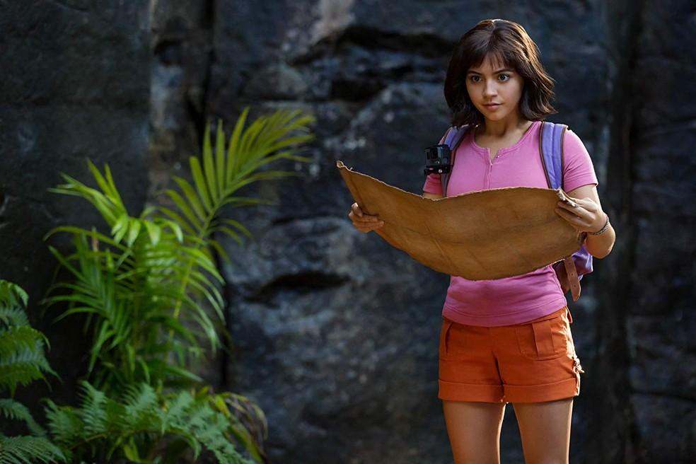 Cena de 'Dora e a Cidade Perdida' — Foto: Reprodução