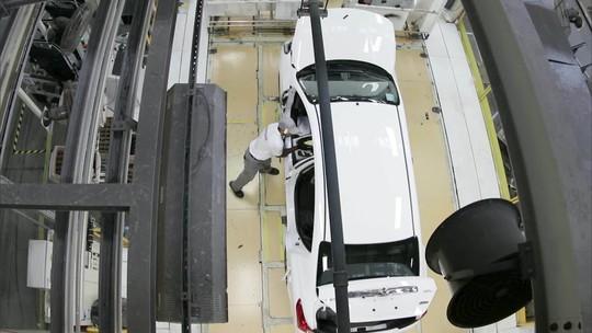 Produção e exportação de veículos caem em agosto