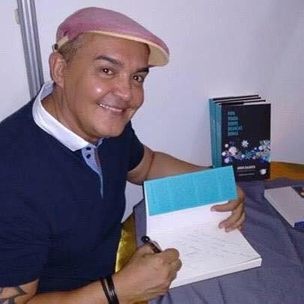 Policial federal, escritor e dramaturgo Junior Dalberto — Foto: Sinpef-RN