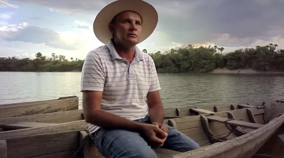 O piscicultor Guilherme Coelho de Carvalho (Foto: Reprodução/YouTube)