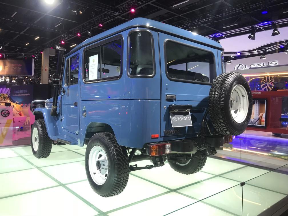 Último Toyota Bandeirante produzido está no Salão de SP — Foto: André Paixão/G1