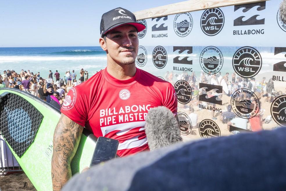 Gabriel Medina foi o surfista mais bem pago do mundo em 2017 (Foto: Kelly Cestari/WSL)