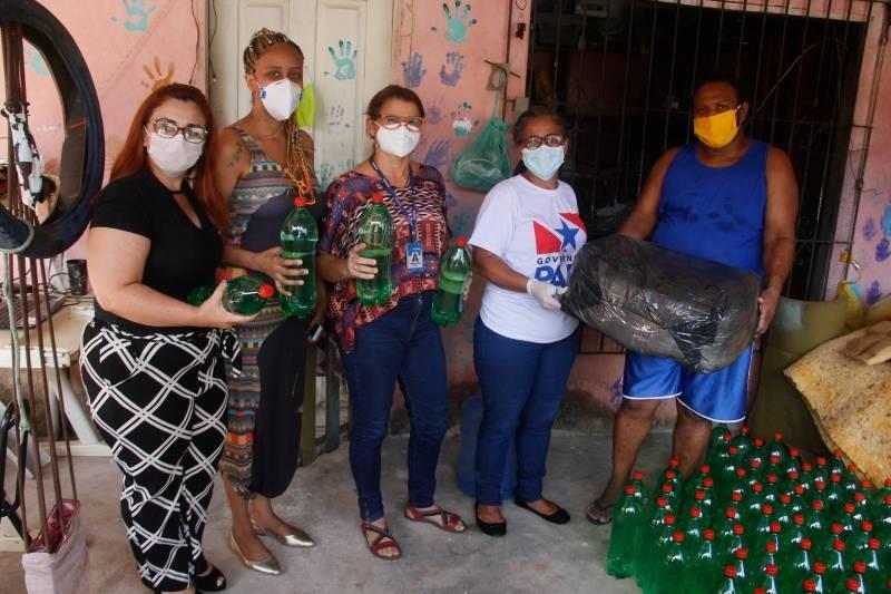 Sespa entrega máscaras de proteção e álcool para comunidades quilombolas do Baixo Amazonas