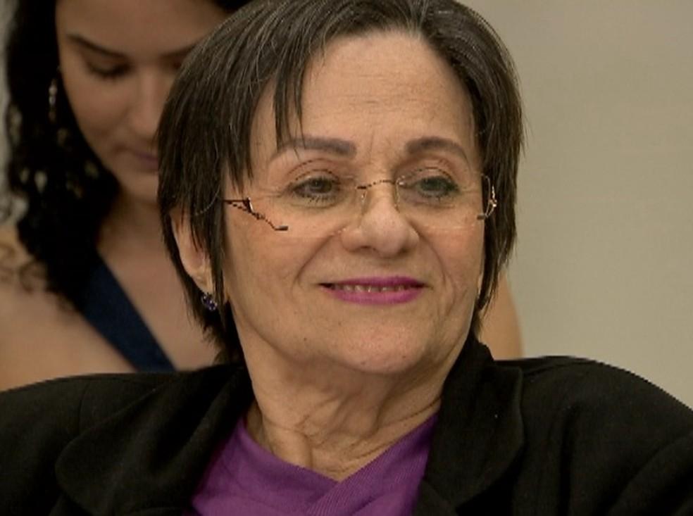 A história de Maria da Penha Fernandes promoveu a aprovação da lei que coíbe a violência doméstica no Brasil.  (Foto: Reprodução/TV Verdes Mares)