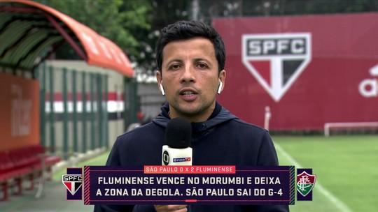André Hernan diz que presença de conselheiro no vestiário pós-derrota incomodou elenco do São Paulo