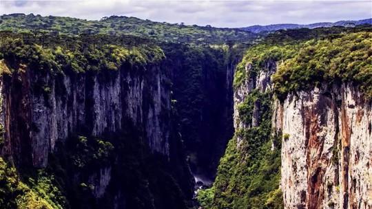 Brasil tem grande diversidade de cânions para ser explorada