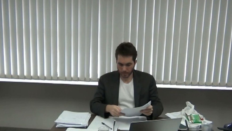 Daniel Gomes, empresário delator da Operação Calvário — Foto: Reprodução/TV Cabo Branco