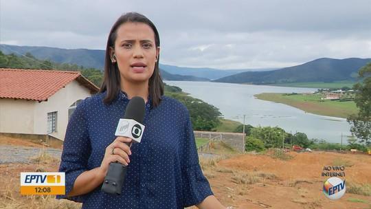 Volume de chuva gera alta no Lago de Furnas e em represas de Poços de Caldas