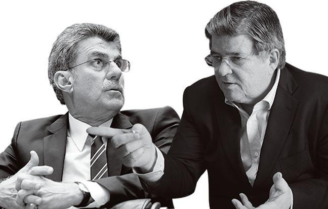 Romero Jucá e Sérgio Machada (Foto: Época)